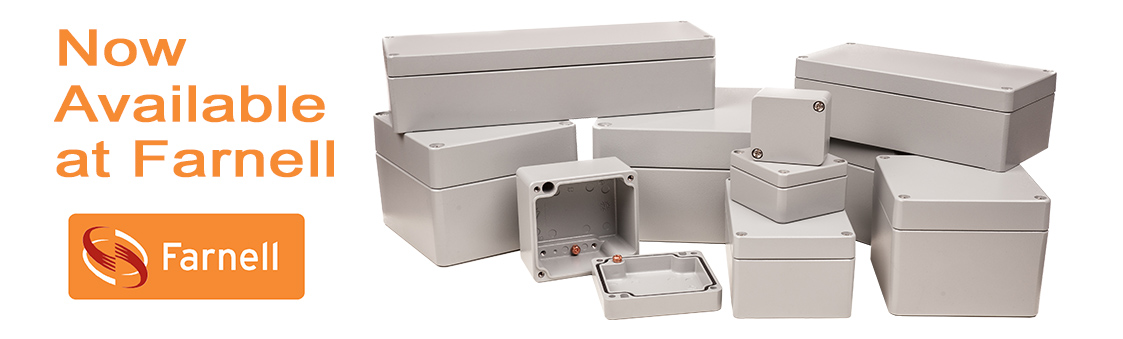 Corrosion Resistant Enclosures Available from Farnell
